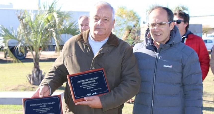 Homenaje de la Municipalidad a la familia Boero