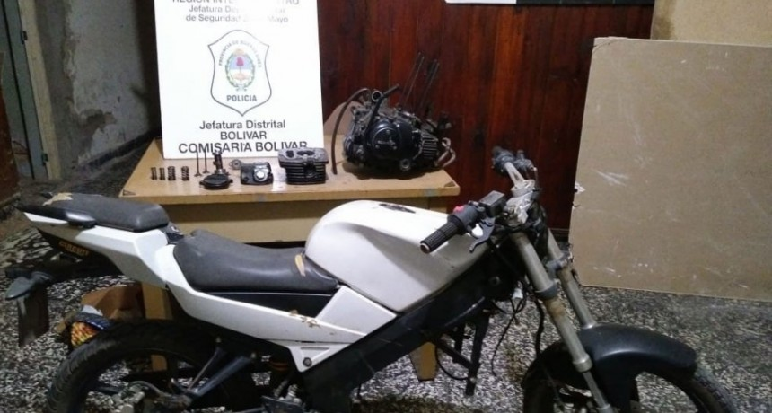 Resultados de los operativos policiales de este fin de semana: Incautación de estupefacientes y motovehículo y aprehensión de sujeto con pedido de captura