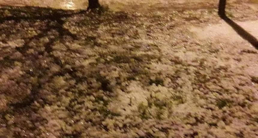 Granizo y lluvias de hasta 28mm fue el saldo de la tormenta de la noche del martes 11
