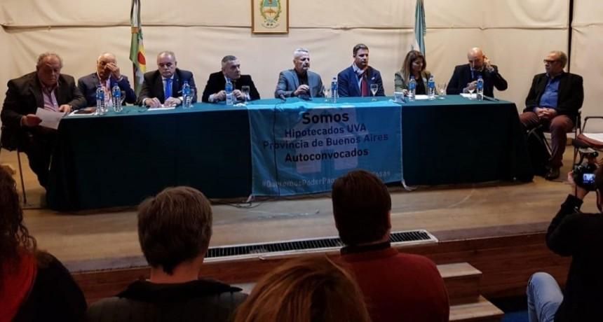 Se llevó a cabo una jornada debate sobre los Créditos UVA y su repercusión social