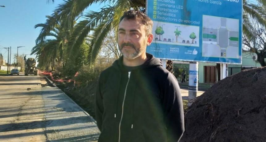 La Municipalidad realiza trabajos en la Av. Fabrés García