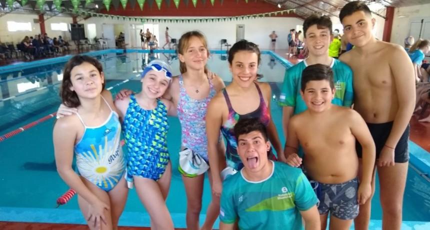 El Natatorio Municipal participó de un torneo en La Madrid