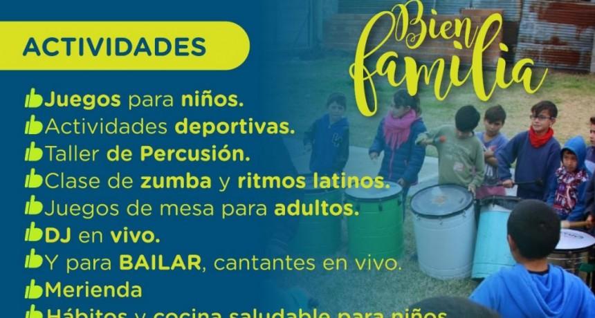 El Programa Municipal Bien Familia llega al barrio Anteo Gasparri