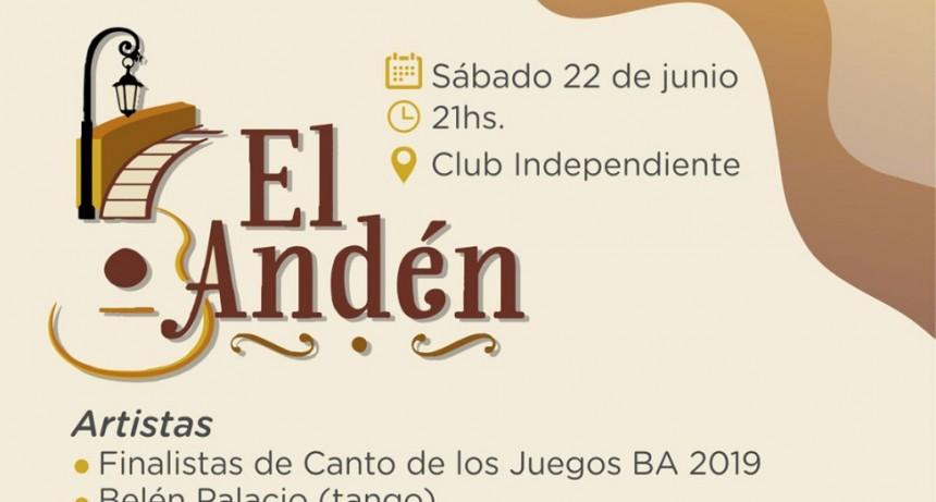 Vuelve la Peña El Andén organizada por la Municipalidad