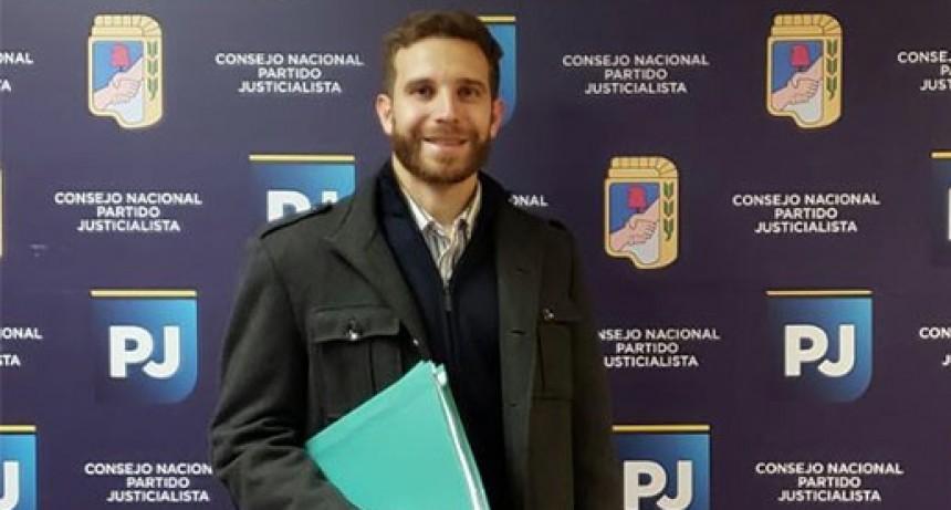 Javier Rodríguez es Precandidato a Intendente