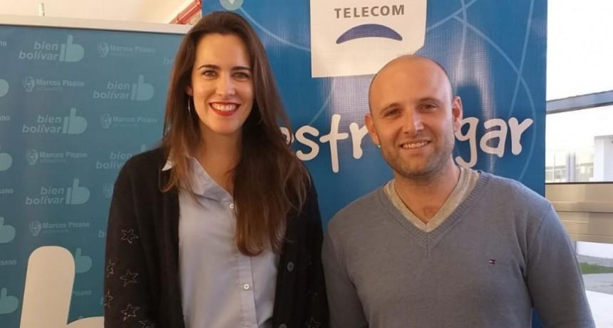 Telecom y la Municipalidad brindan talleres sobre Alfabetización Digital en el CRUB