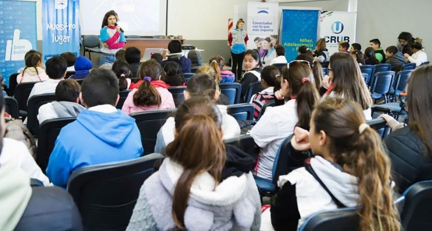 Más de 250 estudiantes participaron de las capacitaciones de Nuestro Lugar de Telecom