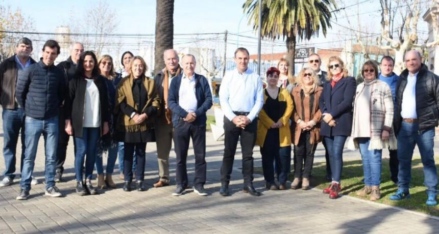 'Juntos por el Cambio': José Gabriel Erreca presentó oficialmente la lista de precandidatos