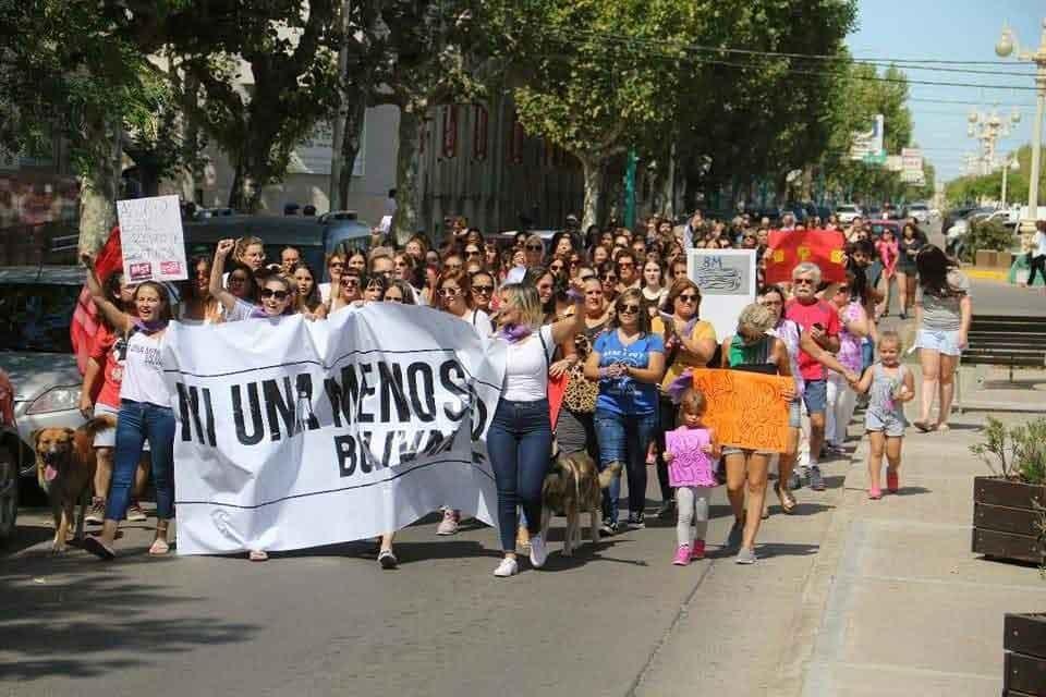 Derechos Humanos se sumó a la marcha virtual de Ni Una Menos