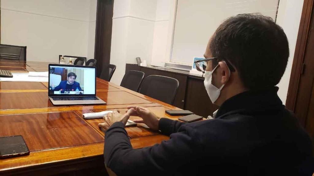 El intendente Pisano participó de una reunión con el gobernador Kicillof