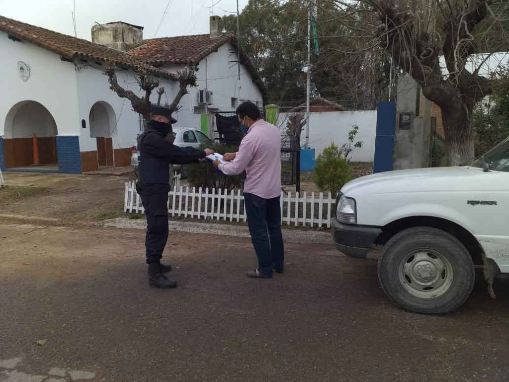 Pareja de Espigas se iba de compras y a pescar: fueron detenidos