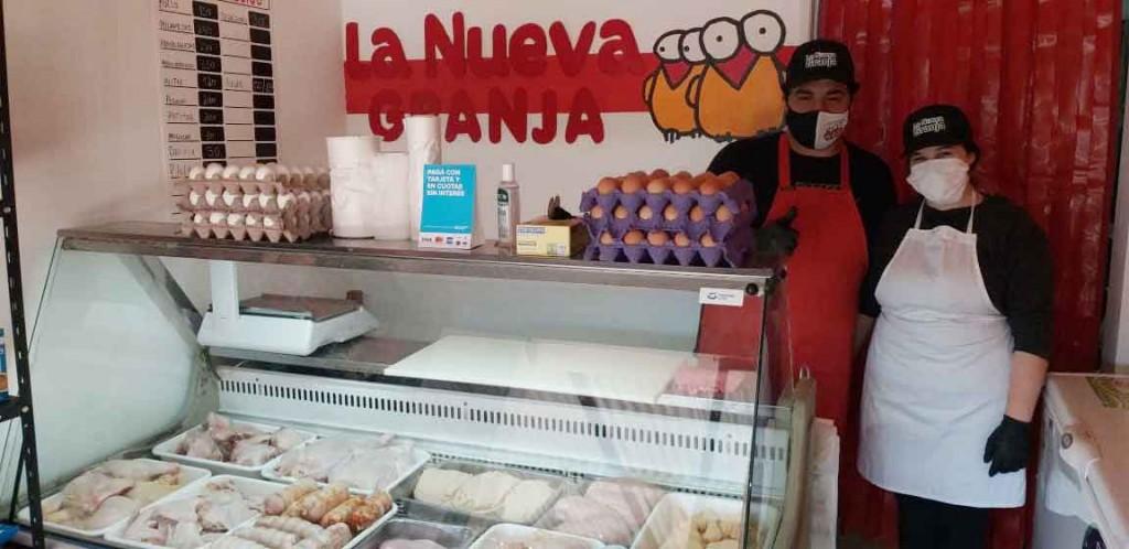 Pollería La Nueva Granja abrió sus puertas en Lavalle 656