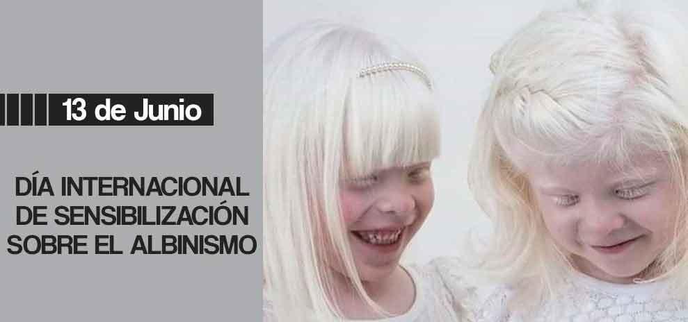 Día Internacional de Sensibilización sobre el Albinismo