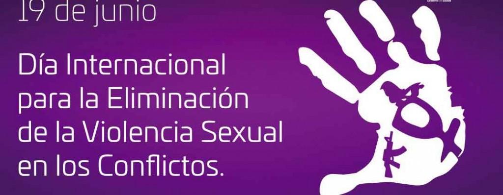 Día Internacional para la Eliminación de la Violencia Sexual en los Conflictos