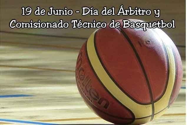 Día del árbitro de básquet