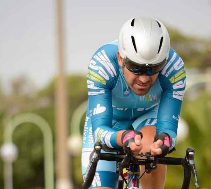 Pablo Brun; 'Lo más lindo que me podría pasar ahora es ver a mi hijo ganar algo importante con el ciclismo'