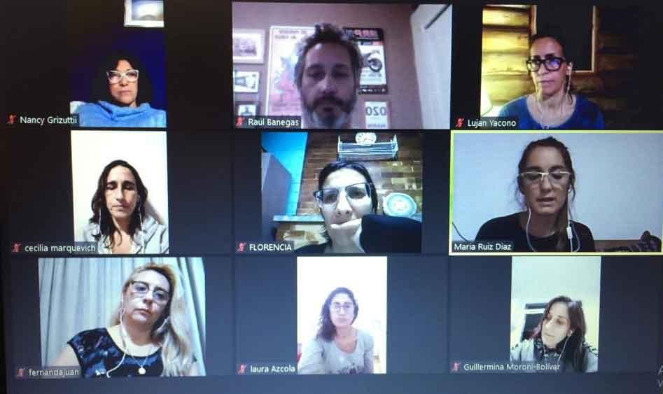 La Directora de Discapacidad participó de un encuentro virtual regional