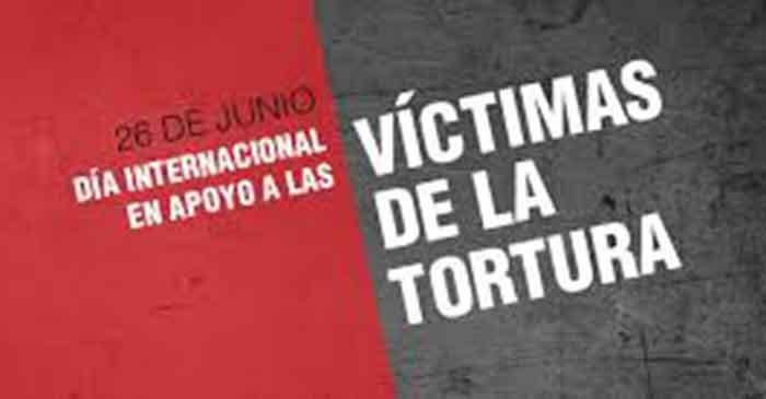 Día Internacional de Apoyo a las Víctimas de la Tortura