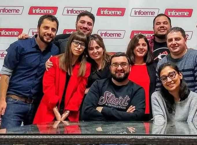 Olavarría; Comunicadores y periodistas de Infoeme en plan de lucha