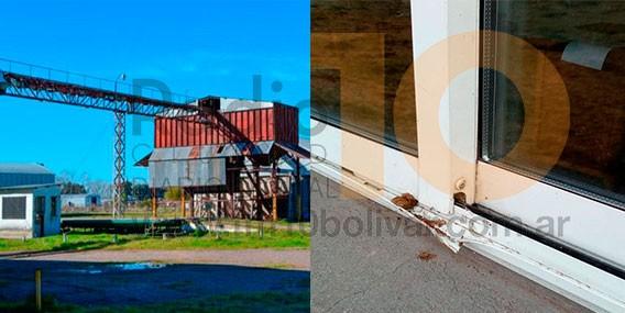 Robos: Vaciaron las oficinas de la Oleaginosa en Parque Industrial