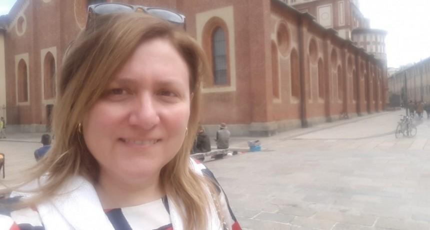 Adriana Virgilio; 'Hace mucha falta que la gente pueda acordarse de su pasado y se vuelva a unir pensando en el bien de la humanidad'