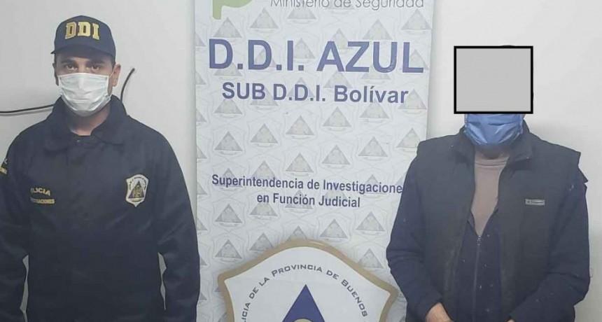 Masculino detenido acusado de abuso sexual