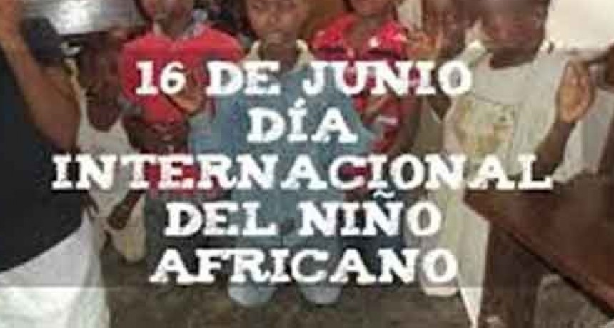 Día Internacional del Niño Africano