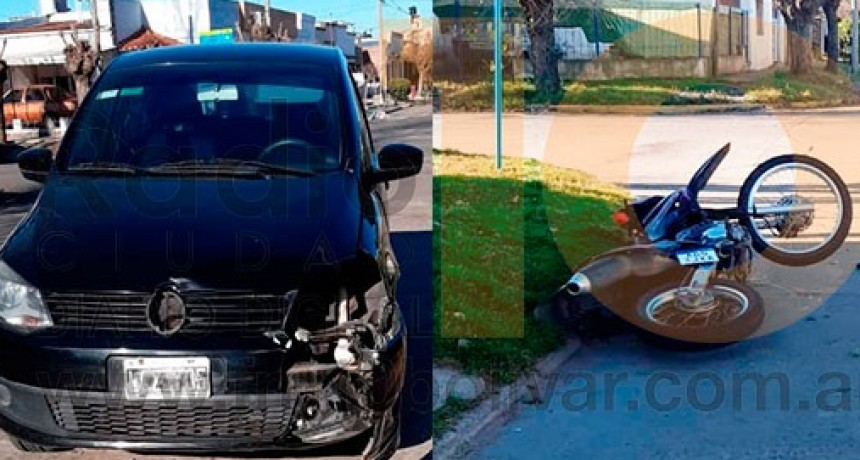 Un joven fue hospitalizado con heridas de consideración a raíz de un accidente en su moto