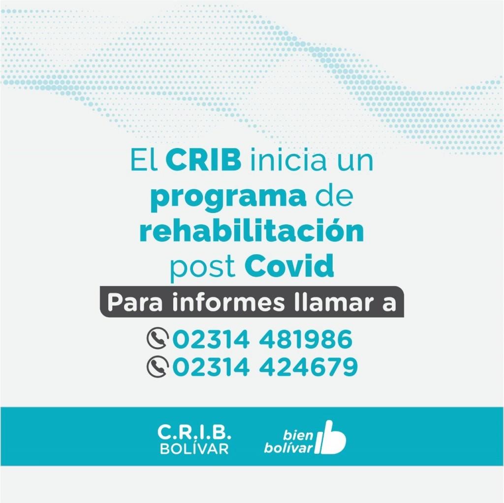 Salud: El CRIB inicia un programa de rehabilitación post- Covid