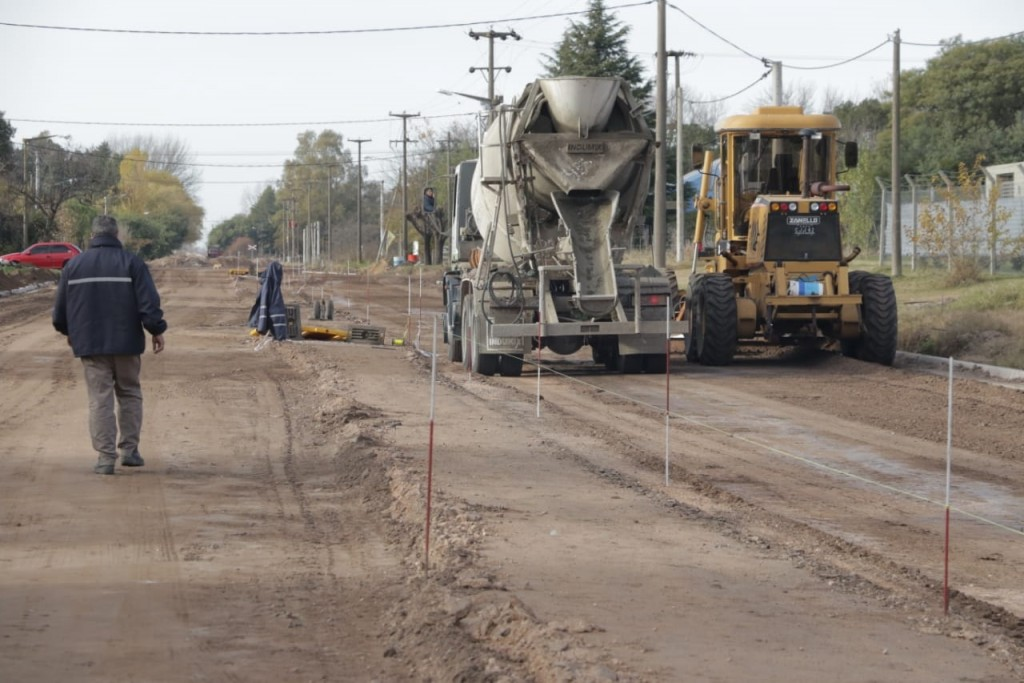 Obras Públicas: La Municipalidad continúa ejecutando obras en el marco del programa Argentina Hace II