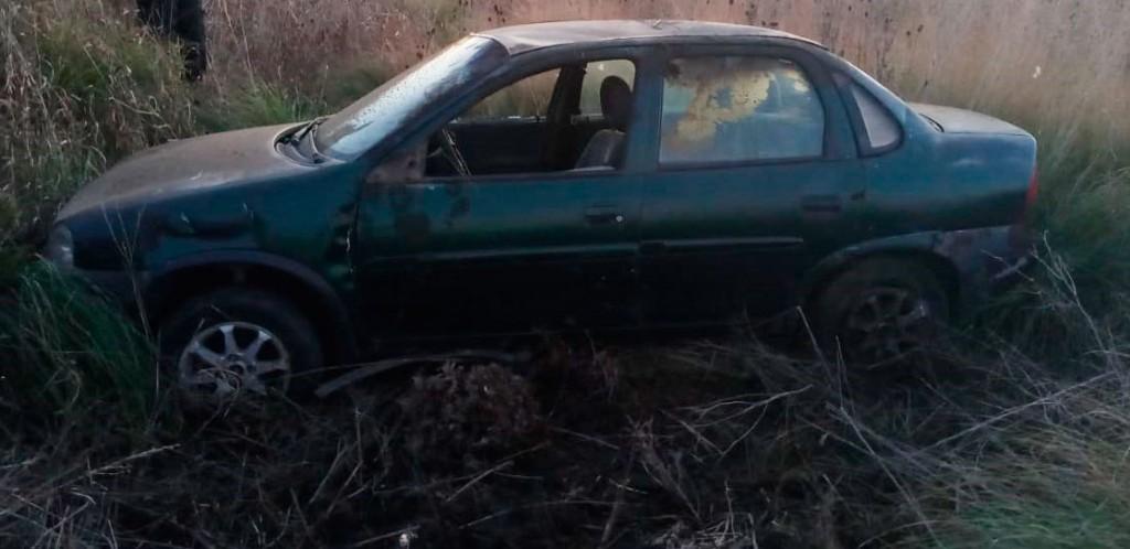 Ruta 65: Un conductor herido y trasladado al hospital a raíz de un extraño accidente