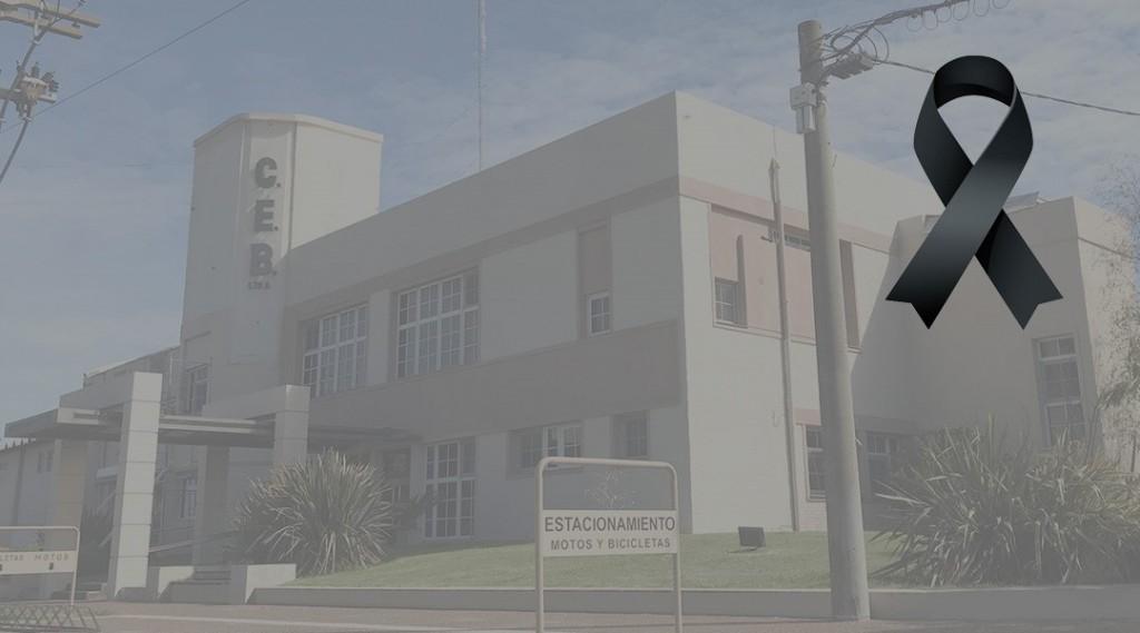 Por el fallecimiento de un miembro del equipo de trabajo, la Cooperativa Eléctrica no abrirá sus oficinas este lunes