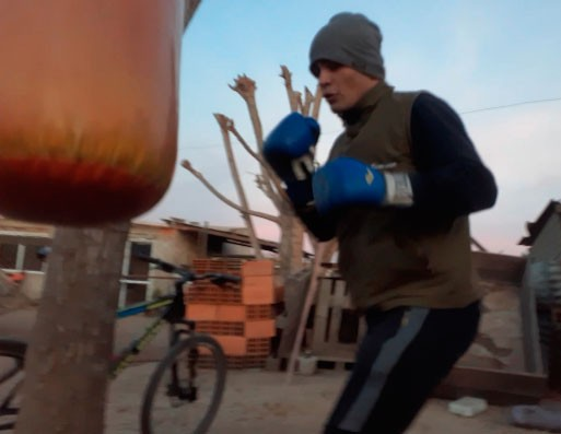 """Facundo García: """"Tenes que entrenarte, dedicarle tiempo y meterte en lo qué es el boxeo"""""""
