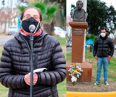 Este lunes: Periodistas de medios locales conmemoraron su día en un acto muy cuidado