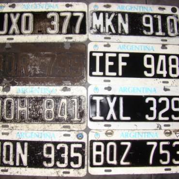 PATENTES DE AUTOS Y MOTOS