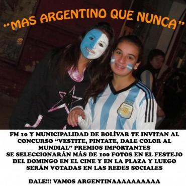 """MAS ARGENTINO QUE NUNCA"""