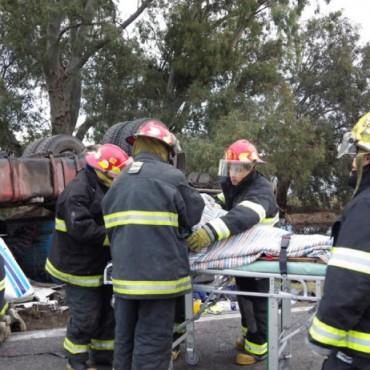 Finalizan las diligencias por la muerte del camionero en la 65