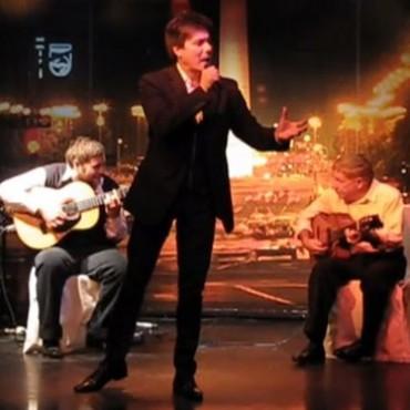 El cantante de tango Cristian Palacios actuará en Bolívar en agosto