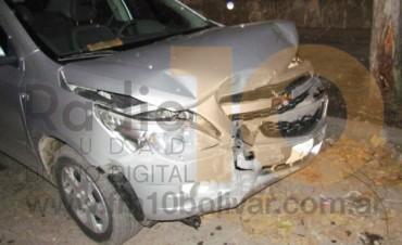 Impacto entre dos autos, afortunadamente no dejó heridos