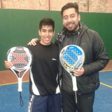 Federico Chingotto ya lleva seis años entrenando en Bolívar