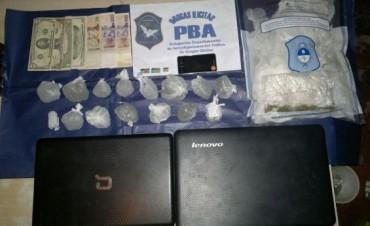 Aprehendieron a dos personas por comercialización de drogas