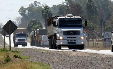 Habrá restricción para el tránsito de camiones, en el feriado del 9 de julio