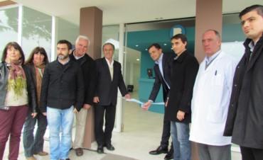 Se inauguró el nuevo Servicio de Admisión e Ingreso del Hospital Miguel Capredoni