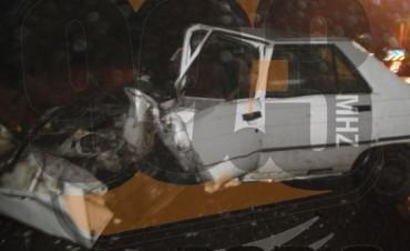 Un muerto en un accidente en el acceso a Urdampilleta