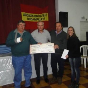 Héctor Moriones, de Ibarra, fue el ganador de la `Fiesta del Chorizo Seco' en Urdampilleta