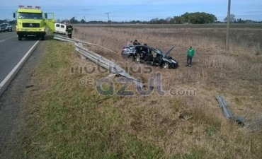 Dirigentes del AFSCA Saladillo, sufrieron un grave accidente