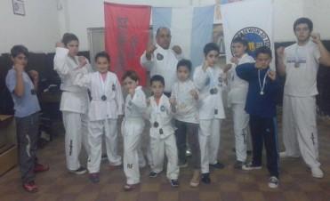 Más de 20 medallas para los chicos de Taekwondo de Bolívar