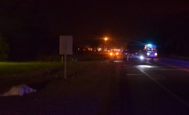 Trágico accidente en Ruta 51: murió un motociclista