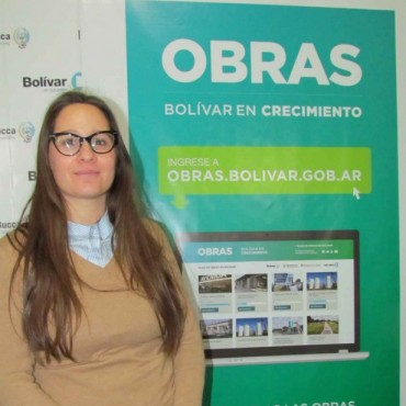Se inauguró una nueva página de obras desde el Municipio de Bolívar