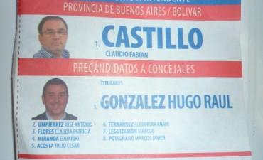 La boleta Fabian Castillo ya se encuentra en vigencia